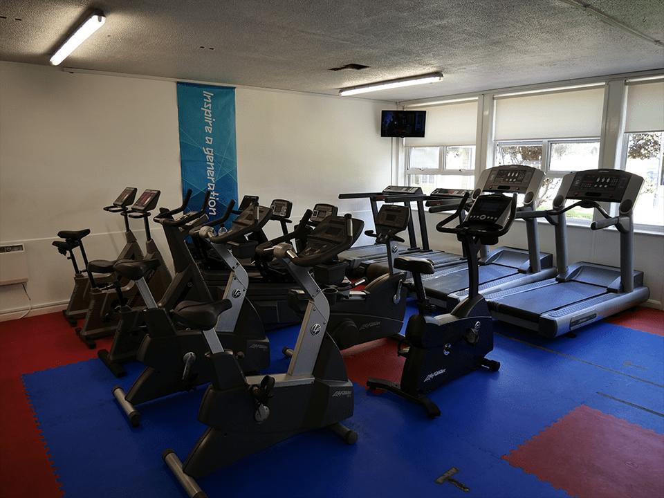Cardio area at Vida Health and Fitness