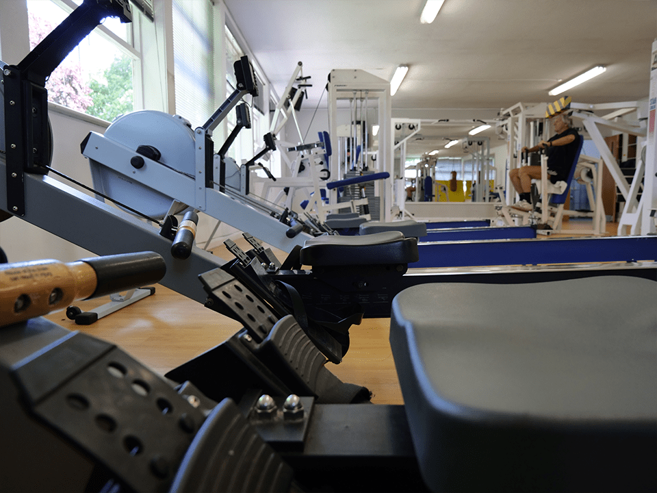 Rowing machine at Vida Health and Fitness