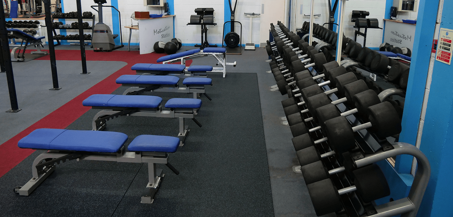 We cater for all fitness needs and training styles