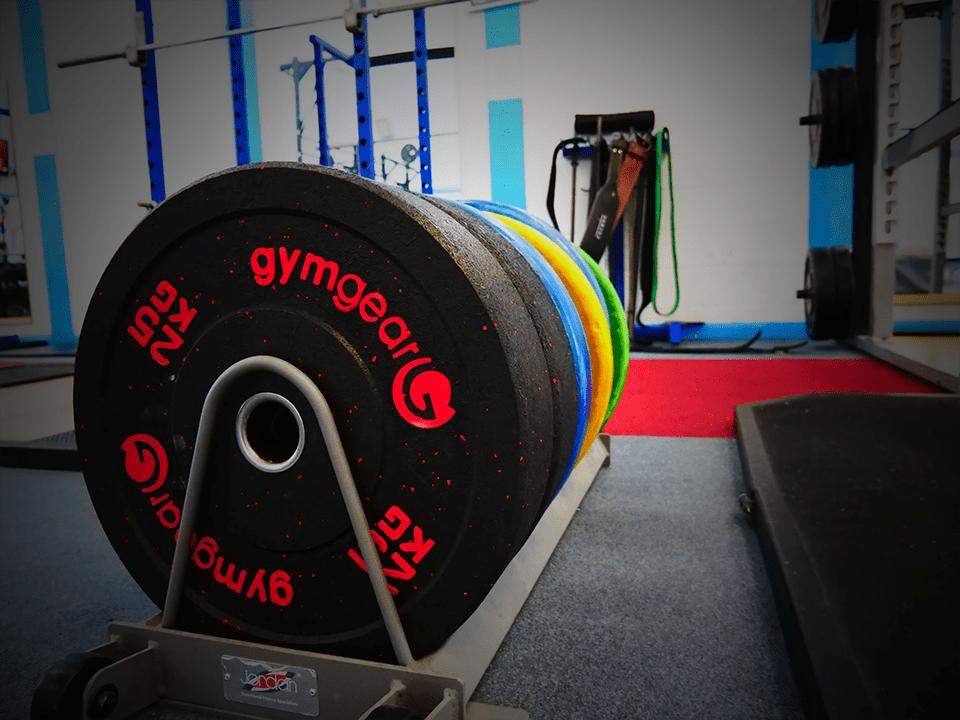 Vida Health and Fitness powerlifting plates