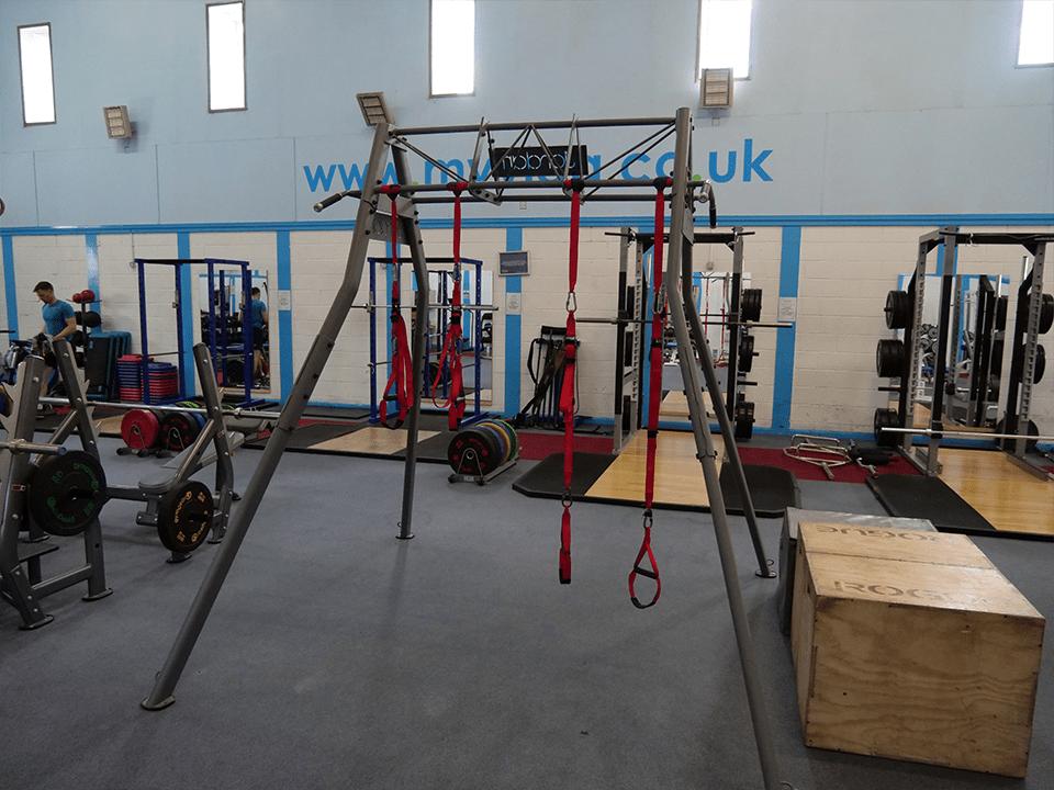 CrossFit rig at Vida Health and Fitness