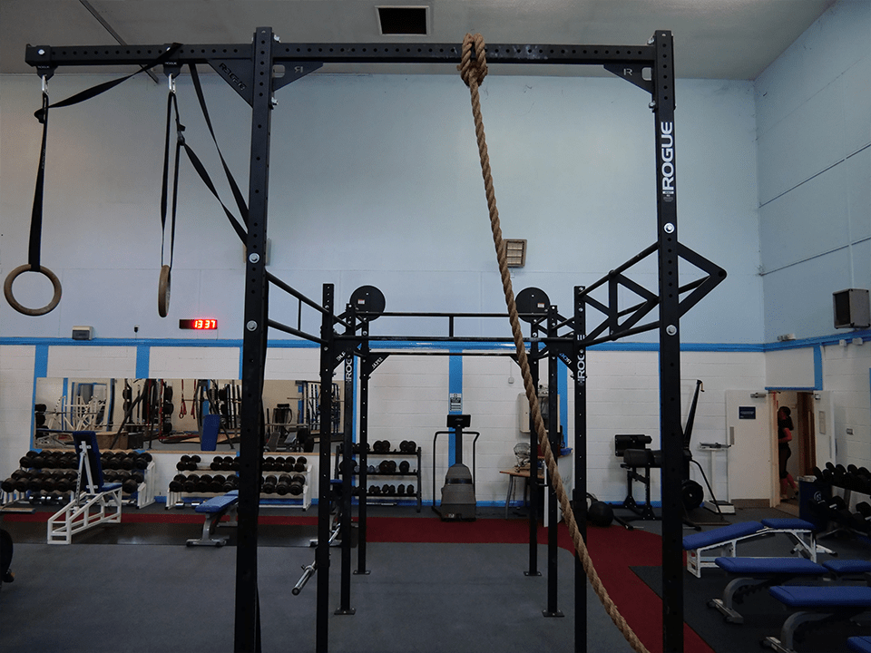CrossFit equipment at Vida Health and Fitness