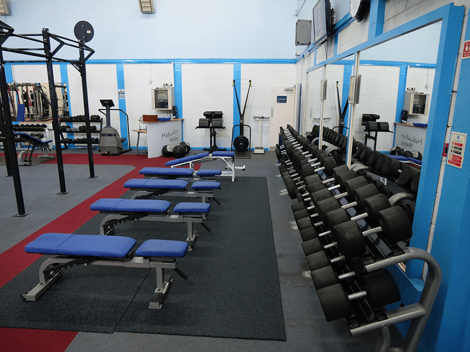 Strength area at Vida Health and Fitness