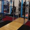 Squat rack at Vida Health and Fitness