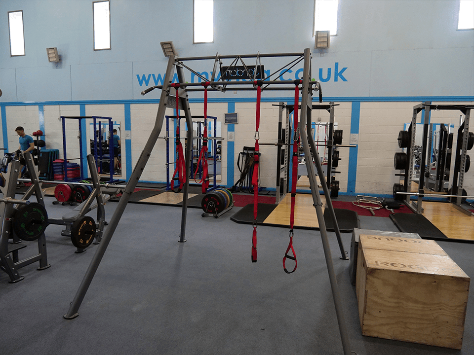 CrossFit rig at Vida Health and Fitness