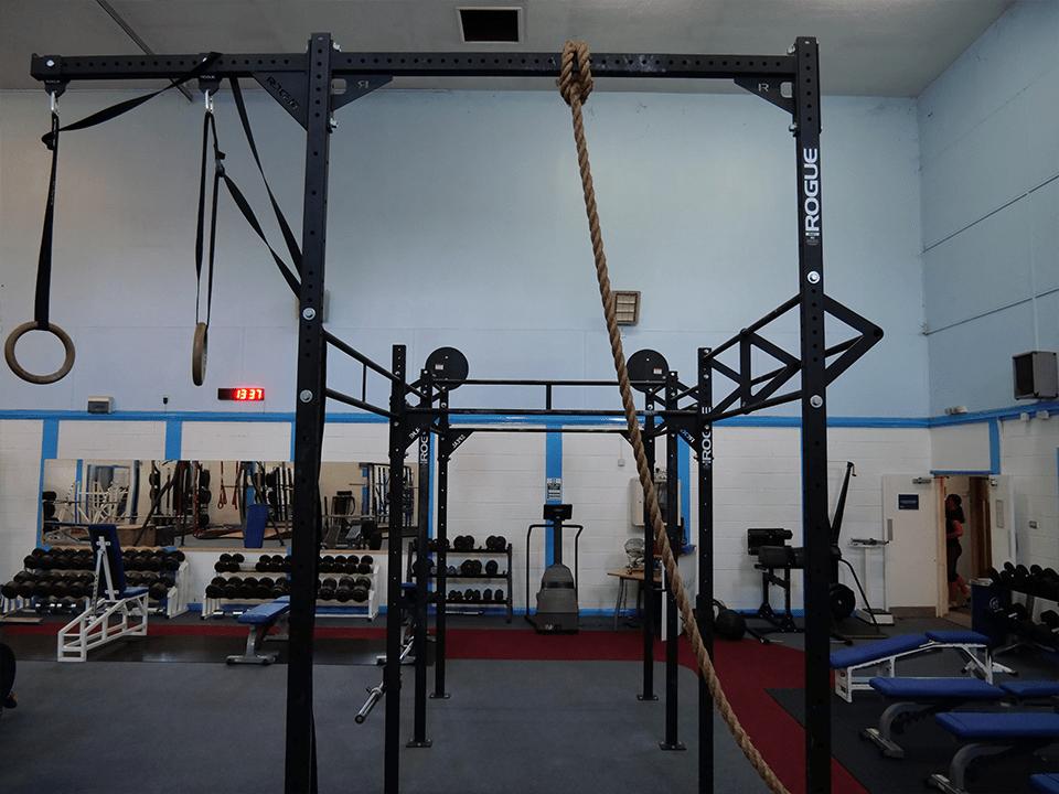 CrossFit equipment at Vida Health and Fitness